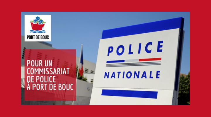 PÉTITION : POUR UN COMMISSARIAT DE PLEIN EXERCICE À PORT DE BOUC